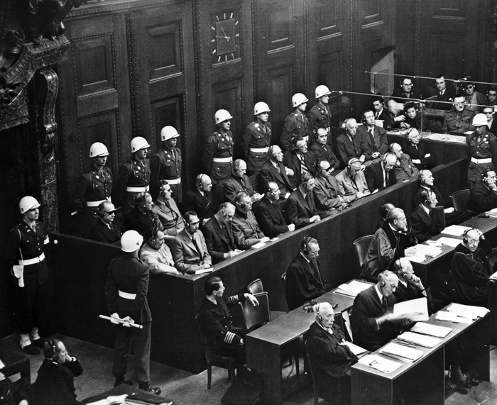 Nuremberg Trial photos by Bill Muster