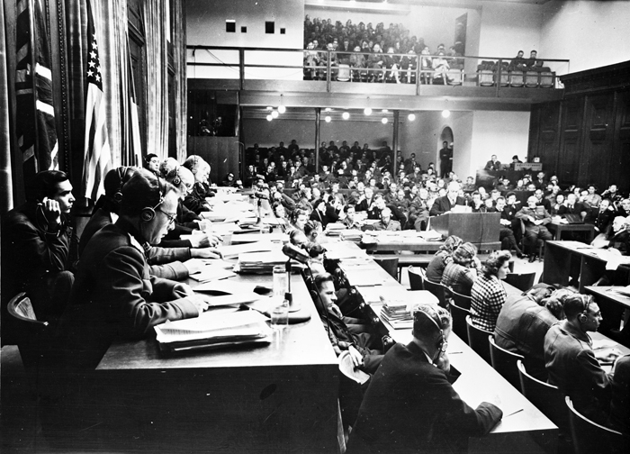 Nuremberg Trials photos by Bill Muster